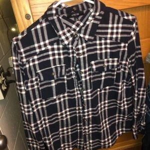 Tops - Red, white, and navy flannel!